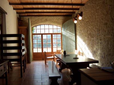 Geraniums salle manger