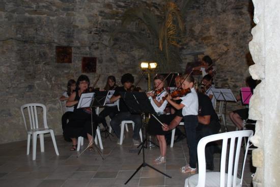 Tonneau violoniste concert